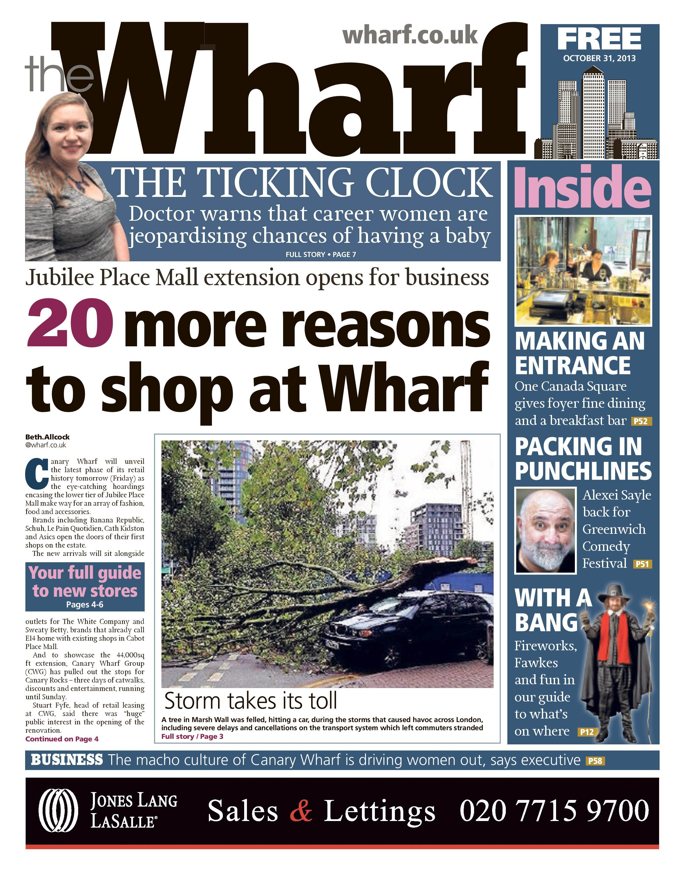 Wharf newspaper features Body Bureau